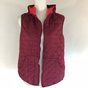 Nike Women's L quoted Vest Jacket- Flawed zip pull